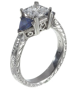 Mens Diamond And Sapphire Wedding Band 75 Cool Tacori engagement rings with