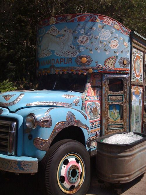 Indian Ice Truck