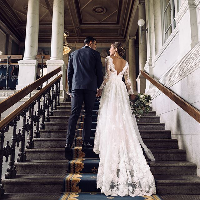 Many Of You Have Been Asking About My Wedding Dress I Designed It Together With Swedish Couture Designer Idasjo Dream Wedding Dresses Wedding Dresses Wedding