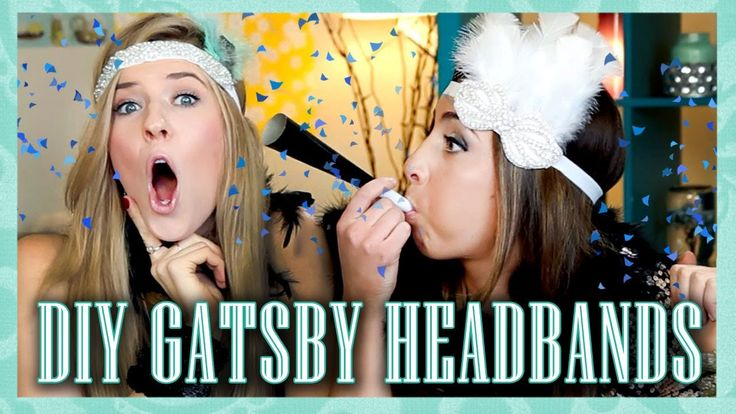 Great Gatsby Inspired DIY Headband Tutorial for NYE - Tutorial Tuesday (...