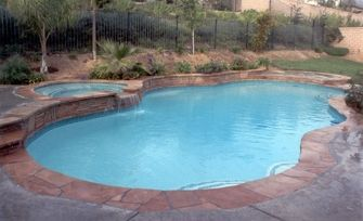 46 best images about pool on pinterest vinyls swimming for Natural stone around pool