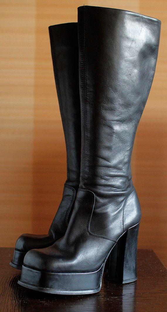 Barratts Shoes Black Platform Heels