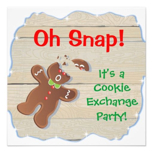 Best 25 Cookie exchange party ideas – Christmas Cookie Party Invitations