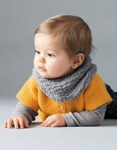 Modèle snood bébé