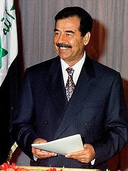 Pres Saddam Hussein.born1937
