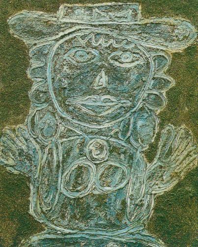 Jean Dubuffet – Kapelusz z kokardą ART BRUT