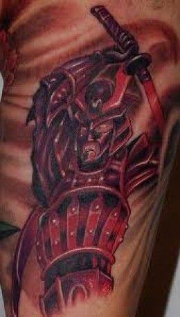 Samurai Tattoos And Meanings-Japanese Samurai Tattoos And Designs-Samurai Tattoo Gallery
