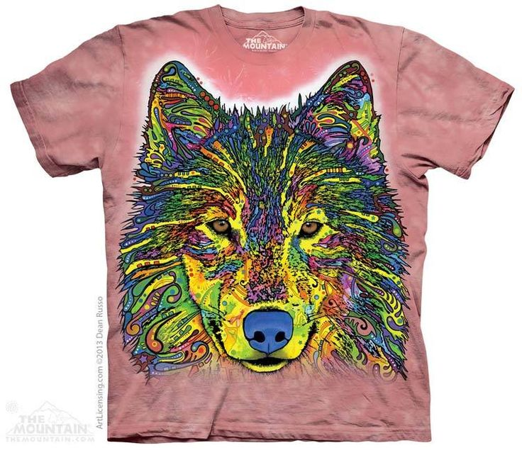 The Mountain - Russo Wolf T-Shirt, $20.00 (http://shop.themountain.me/russo-wolf-t-shirt/)