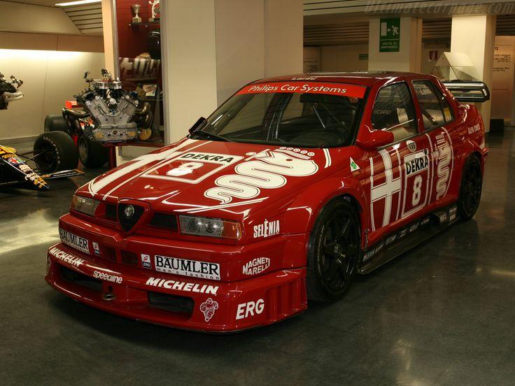 Alfa Romeo 155 V6 TI DTM race car.