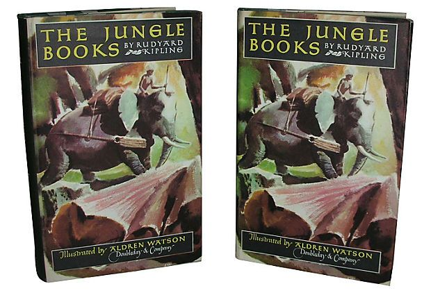 The Jungle Books, 2 Vols on OneKingsLane.com