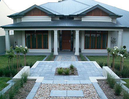 Front garden design tookoo landscape design in adelaide for Outdoor garden designers adelaide
