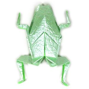 paper jumping frog instructions