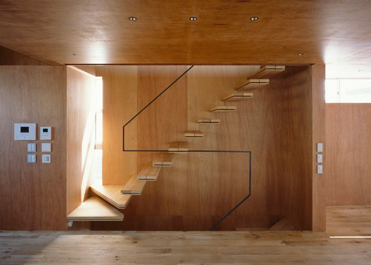Nord   A Minimalist Japanese House Inspired By Religious Architecture. Contemporary  StairsModern ...