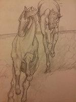 Running horses by ~Amluan on deviantART