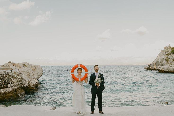 authentic wedding portrait