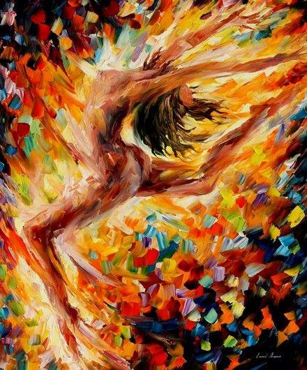 baile del amor pintura al oleo original de leonid afremov cozumel