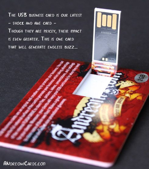 8 best ui business card images on pinterest profile business usb business card makes a great useful slim wallet size promotional giveaway for your best clients or potential clients reheart Images