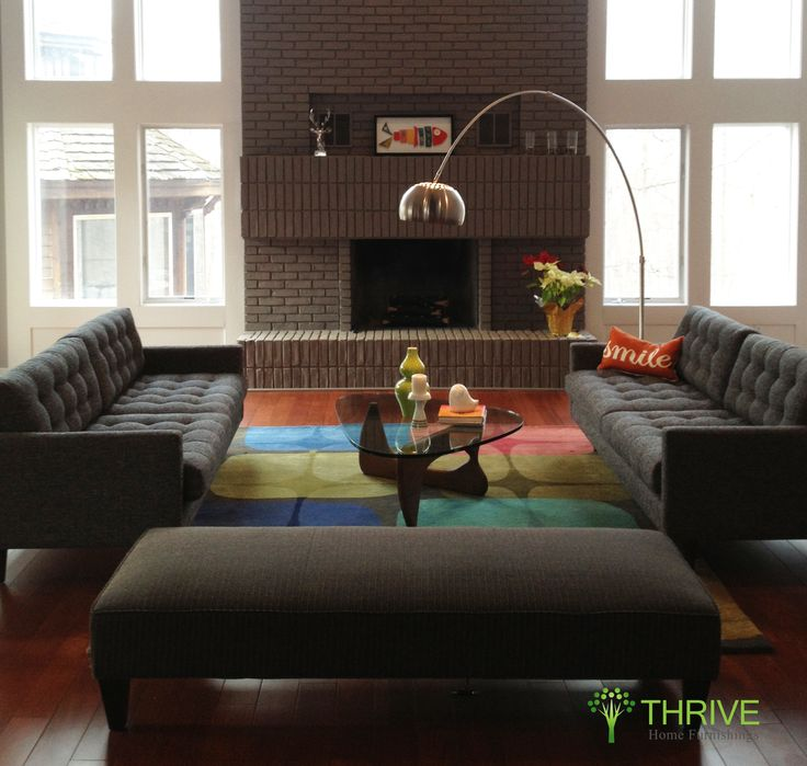 Great Two Matching Tyler Sofas In Key Largo Graphite   $1599