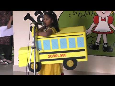 School Bus Fancy Dress Competition - YouTube