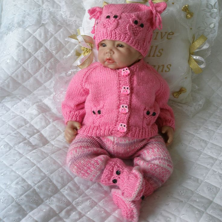 Knitting Baby Clothes : Best images about reborns on pinterest baby knitting