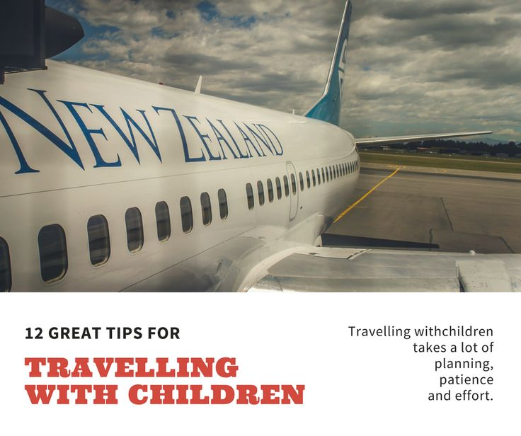 12 great tips for travelling with children