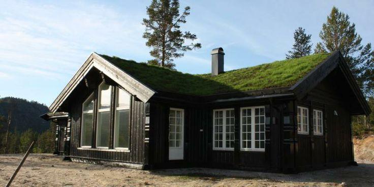 EIKÅS HYTTER OG HUS: Modellen Trysil er Eikås Hytter og Hus mest populære i 2013. Prisen for byggesettet er 839.900 kroner.
