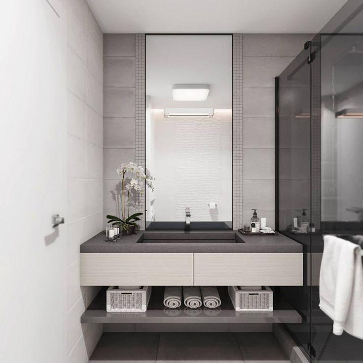 39 отметок «Нравится», 3 комментариев — @olia_ivanova_ в Instagram: «Стильный и современный дизайн ванной комнаты для студии Анны Черноокой…»