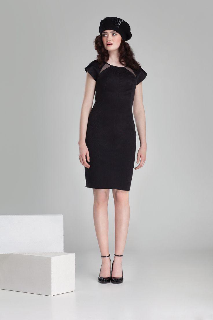 Nowa kolekcja #danhen #jesienzima2014 #fw2014 #fashion #elegant #parisienne #french #sukienka #malaczarna #lbd