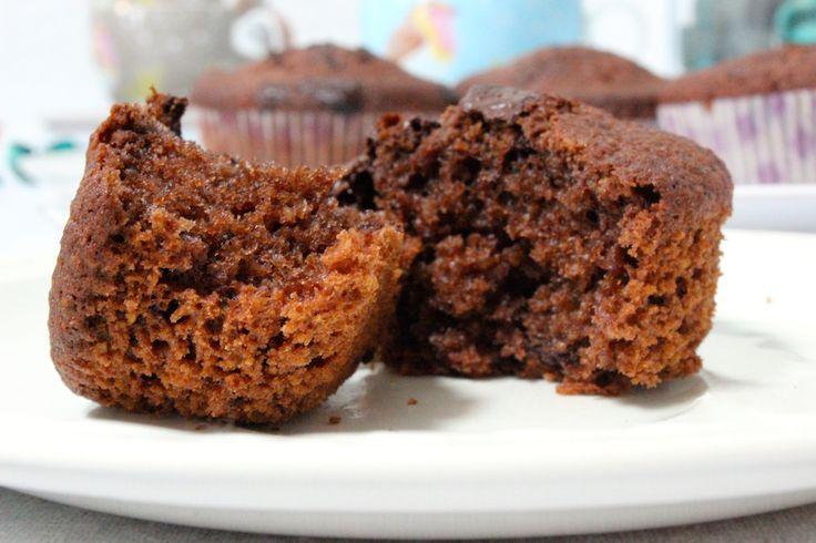 Glutenvrije chocolade muffins