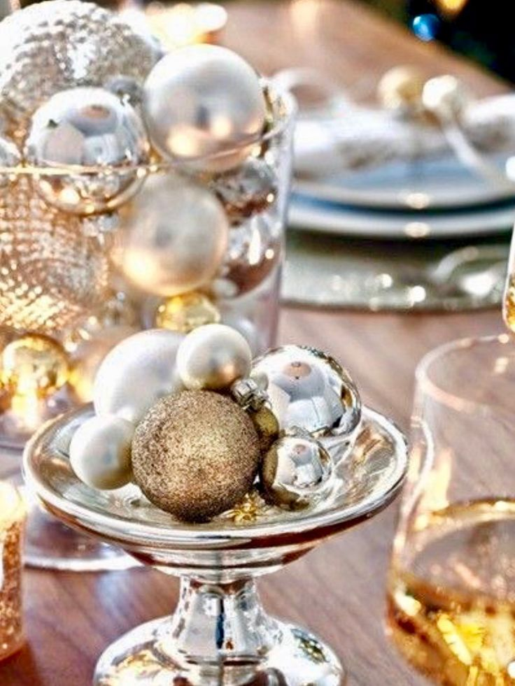 Gold And White Christmas Table Decorations 897 best christmas table decorations images on pinterest