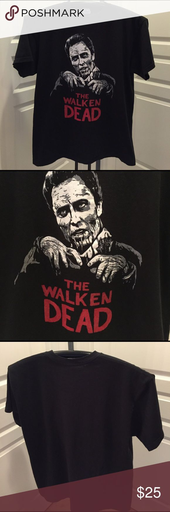 The Walken Dead T-Shirt Great Christopher Walken spoof T-Shirt of the Walking Dead TV show in Size XL....good condition Delta Shirts Tees - Short Sleeve