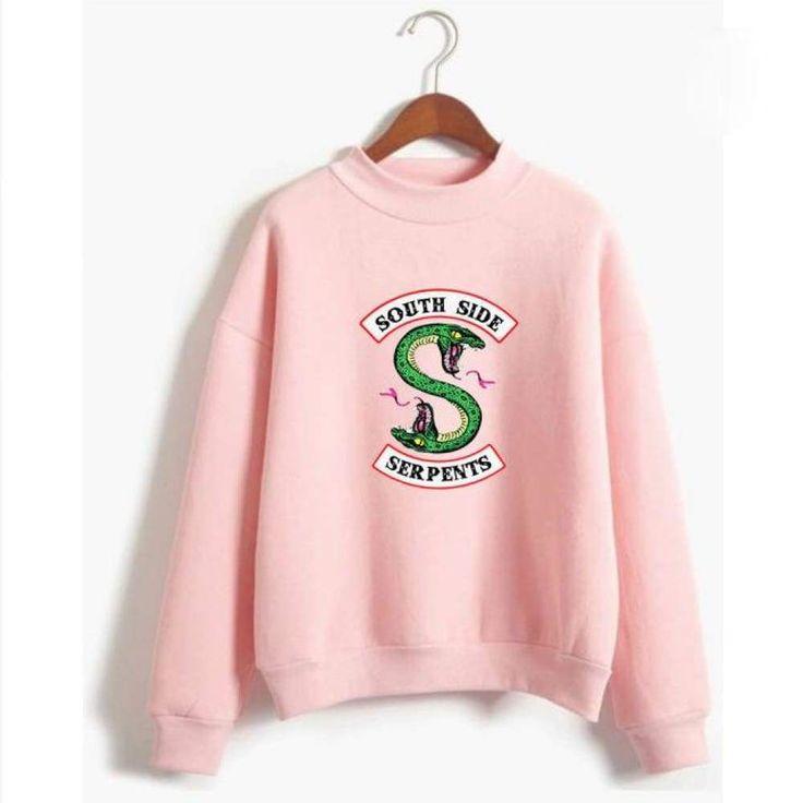 Riverdale South Side Serpents Sweatshirt (Unisex) – Choose your colour
