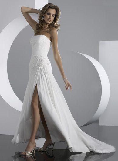 Robe de mariée de nouveauté en mousseline de soie avec des Broderies