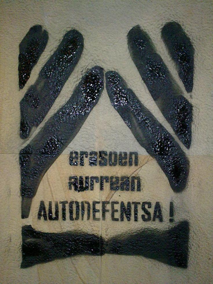 #autodefensa_feminista #BeldurBarikLehiaketa2015 #ZureHerria #BBekintzak