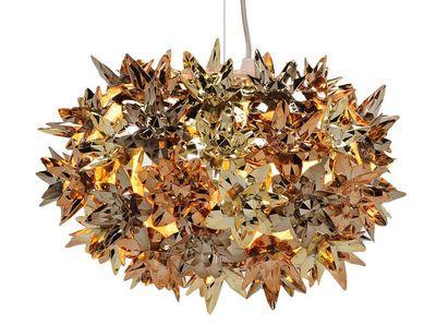 Suspension Bloom Bouquet / Small Ø 28 cm - Métallisée Or-bronze-Cuivre - Kartell - Décoration et mobilier design avec Made in Design