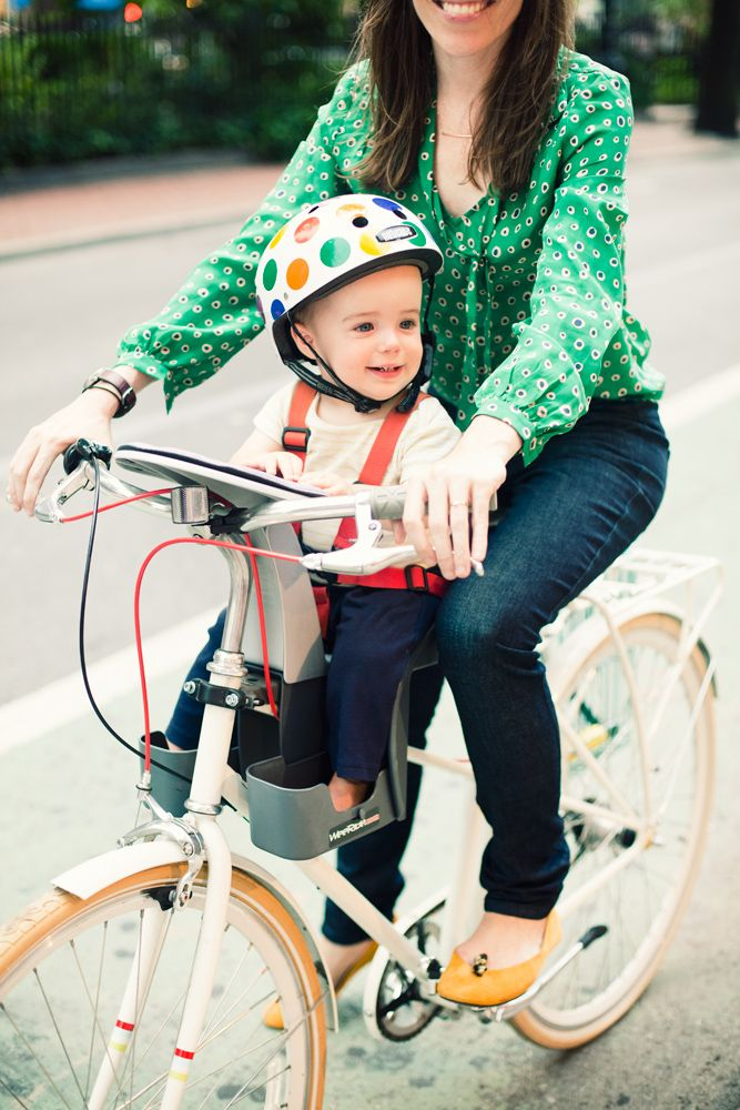 A CUP OF JO: Motherhood Mondays: Riding bikes with babies