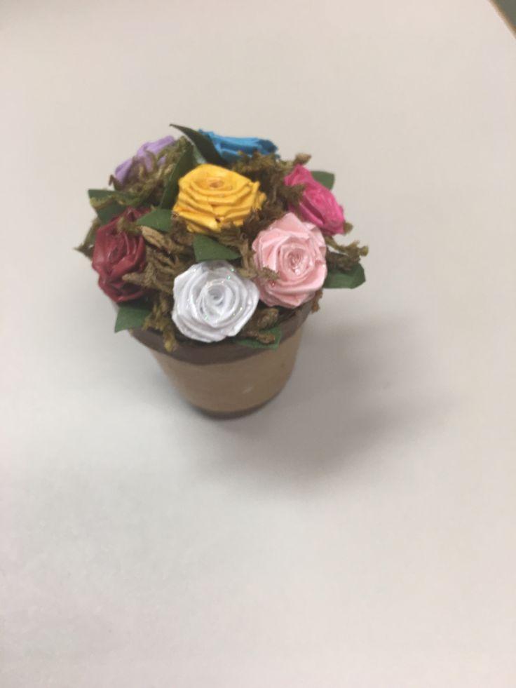 Quilling 3d fleurs