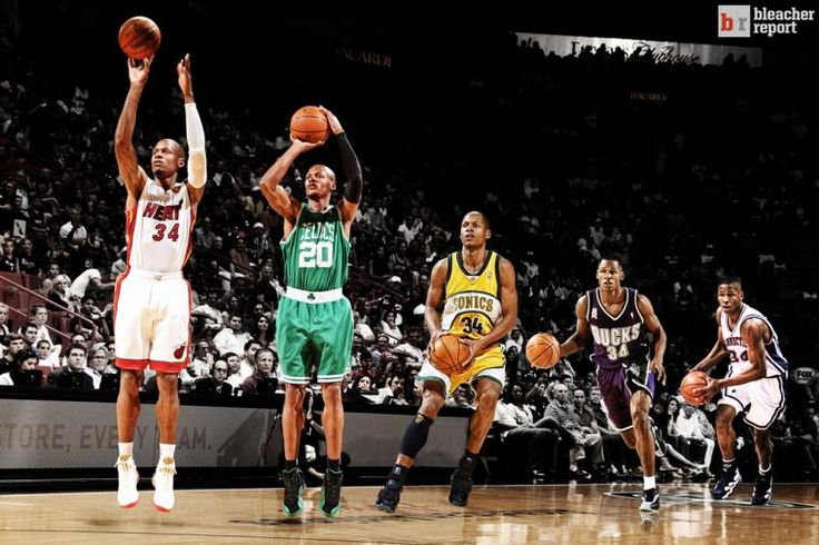 Ageless Ray Allen Adapts to Stay Clutch #jesusshuttlesworth