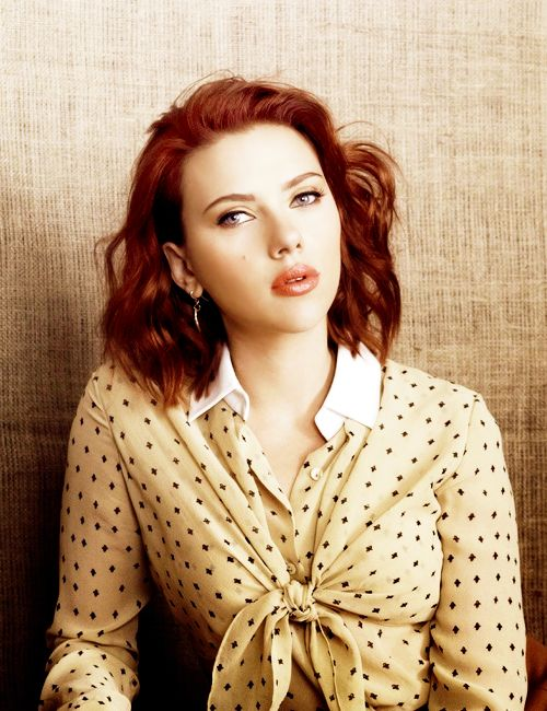 Scarlett Johansson She is so beautiful! I love her hair! | Hair ...