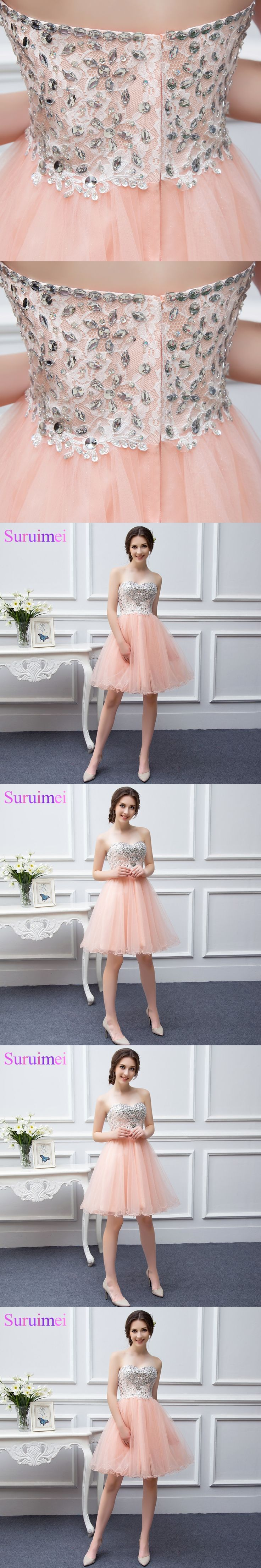 Free Shipping Short Coral Bridesmaid Dresses Beaded Applique Soft Tulle Vestidos De Brides Maid of Honor Dresses Real Photo