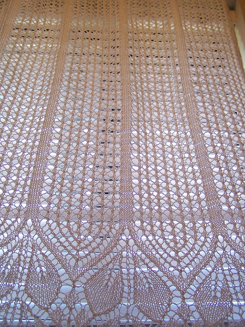 Free Knitting Patterns For Lace Curtains : 1000+ images about Curtains on Pinterest Lace Curtains, Crochet Curtains an...