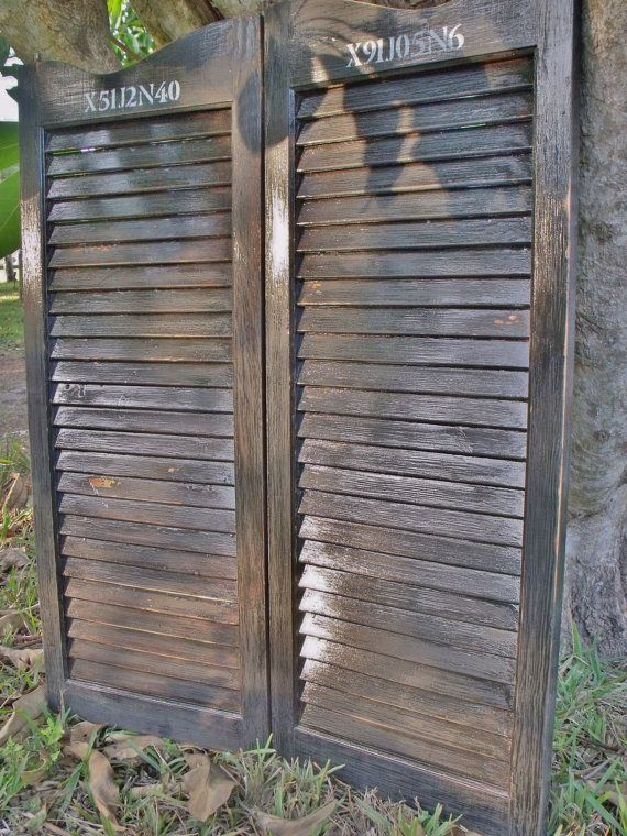 Saloon Doors  Industrial Finish by ItTakesUnderstanding on Etsy, $86.00