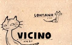 Learning Italian Language ~ Vicino, lontano (Near, Far) IFHN