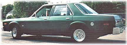 late Dodge Aspen cars