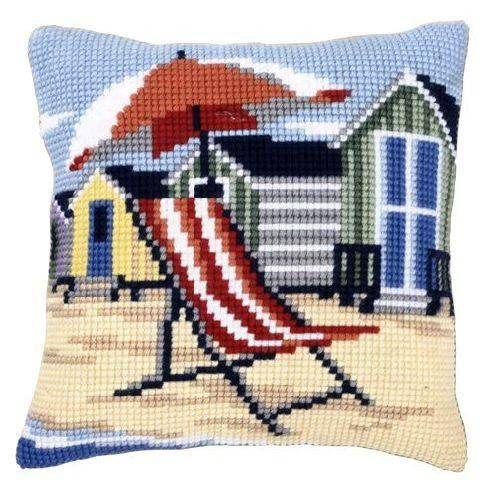 Подушка для вышивания Vervaco PN-0145641 На пляже