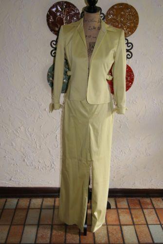 Collectible Liz Clairborne Lime Green Pants Suit Size 2P Circa 1990s | eBay
