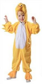 Kids Chick and Ducky Costumes: Yellow Duckling Costume (more details at Halloween-Kids-Costumes.com) #easter #halloween #costumes