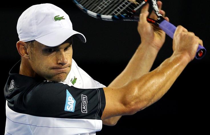 Andy Roddick.  Australian Open, January 2012.  #tennis: January 2012, Sketch, Andy Roddick, Tennis Tournaments, Sport Personalities, Main Tennis, Australian Open
