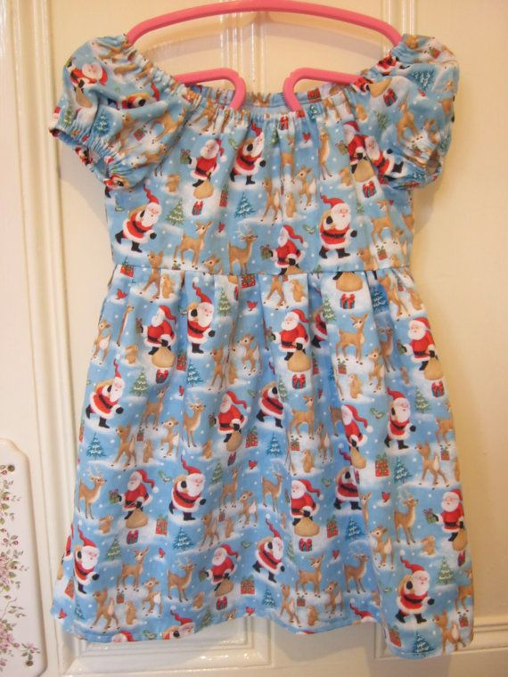 Girl's Rockabilly Kitsch Christmas Party by LilRockabillyRebel, $30.00