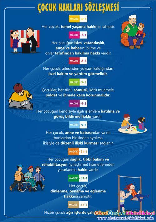 Çocuk Hakları Günü Etkinlik ve Sloganları